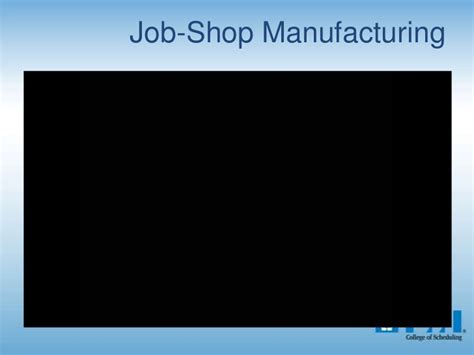 project manufacturing project manufacturing