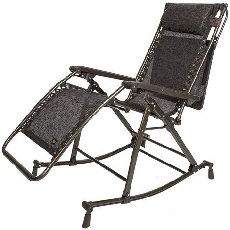 Bliss Zero Gravity Chair by Bliss Hammocks Zero Gravity Patio Lounge Chair Rocker 7792t Save 26