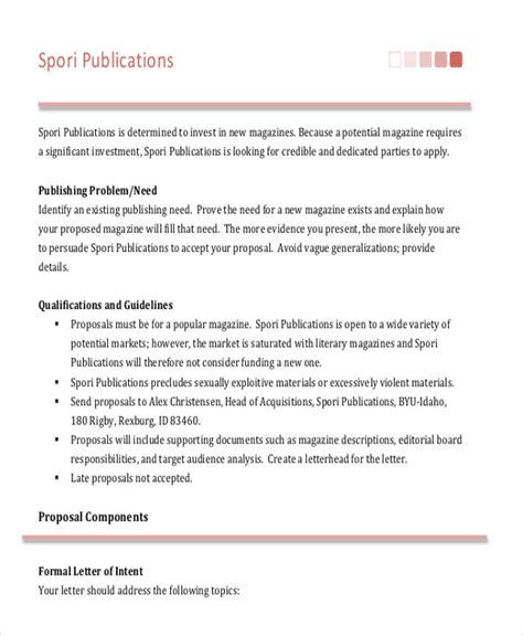 advertising agency rfp template sle advertising letter 9 exles in pdf word