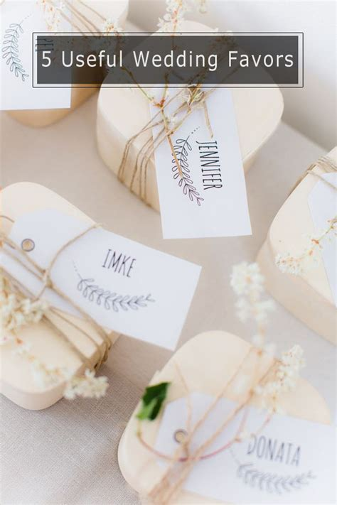 Top 5 DIY Wedding Favors Your Guests Will Love   Weddings