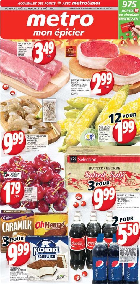 Deal Of The Week 25 At Maneater Threads by Flyer Metro Qc Flyer Aug 9 To 15 Canada Flyers Coupons Deals