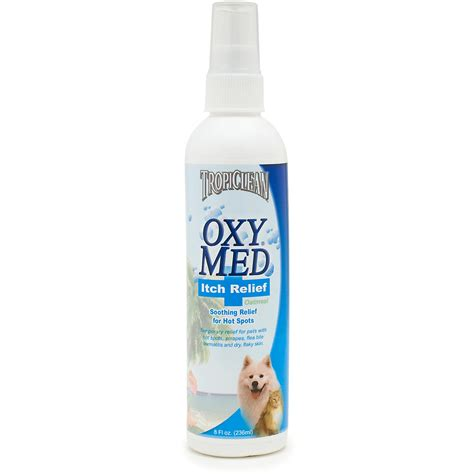 anti itch for dogs tropiclean oxy med anti itch spray for dogs naturalpetwarehouse
