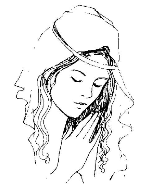 imagenes virgen maria para dibujar silueta de la virgen maria imagui