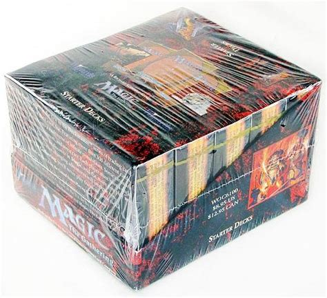 magic the gathering starter decks magic the gathering 4th edition starter deck box sealed