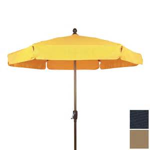 Lowes Patio Umbrella Shop Fiberbuilt Navy Blue Patio Umbrella With Crank Common 90 In Actual 90 In At Lowes
