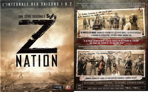 Z Nation Resumes by Dvdpascher Critique 224 La Loupe Z Nation Saison 1 Et 2
