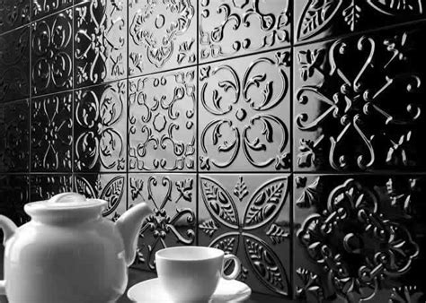 Pressed Tin Tiles Wall