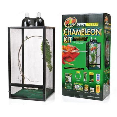 Zoo Med L by Zoo Med Reptibreeze Chameleon Kit