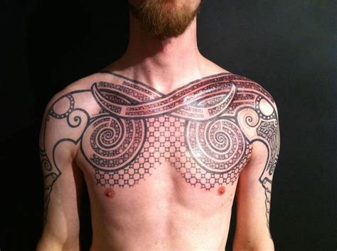 pict tattoos pict inspired chest ancient traditional tattoos