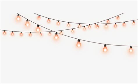 string of lights clipart decorative light string festival promotions decoration