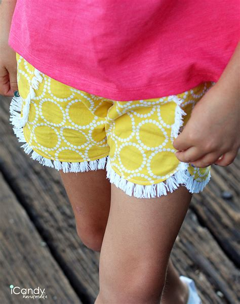 Icandy Handmade - diy shorts pattern reviews icandy handmade