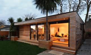 modern and eco friendly garden office an ideal solution to working from home designrulz