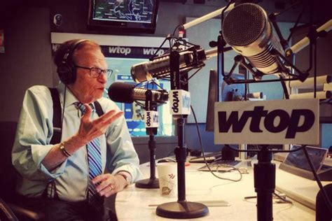 To Be Interviewed By Larry King by Larry King Shares Favorite Interviews At Newseum Wtop