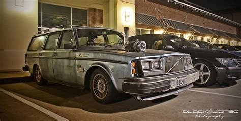 volvo diesel 1982 volvo with a charger sticking out of the