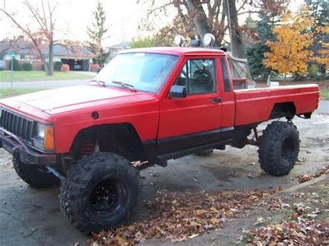 1988 lifted jeep comanche snocross2xtremes 1988 jeep comanche regular cab specs