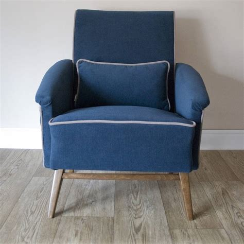 upcycled armchair octavia mid century upcycled armchair by modoo home