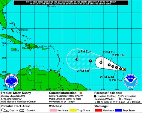 2015 projected path hurricane danny minnesota s unusual august storm atlantic hurricane danny
