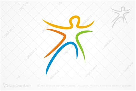 Kaos Fitness World Logo 07 health and fitness logos logos for sale