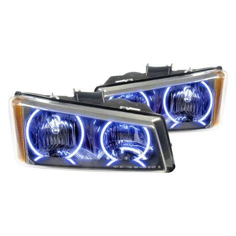 Oracle Halo Lights by Oracle Lighting 174 Chevy Silverado 2003 2006 Headlights