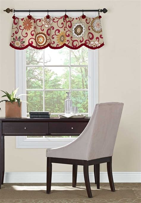 livingroom valances curtains with valance for living room