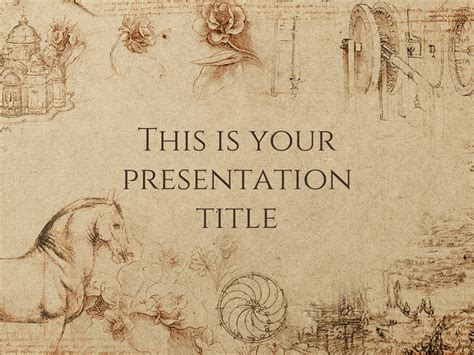 powerpoint templates for history presentations free presentation template historical style