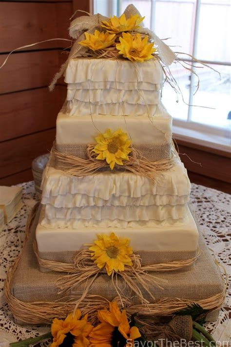country themed wedding cake design savor the best