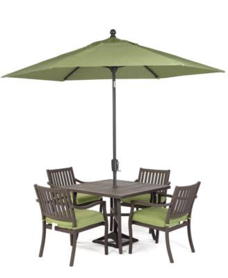 Holden Outdoor Patio Furniture 5 Piece Set 40 Quot Square Macys Patio Dining Sets