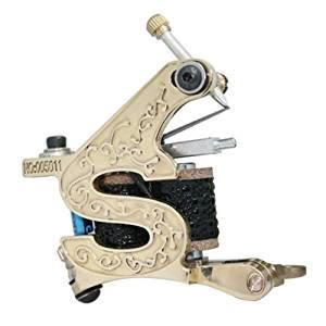 tattoo gun amazon amazon com new gold pro frame 10 wrap coils tattoo