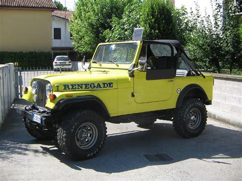 jeep cj7 renegade jeep renegade cj7