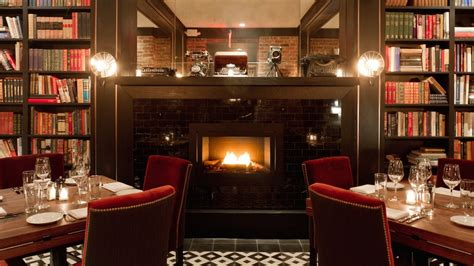 Bars With Fireplaces by Restaurants And Bars With Fireplaces Nyc Spots For