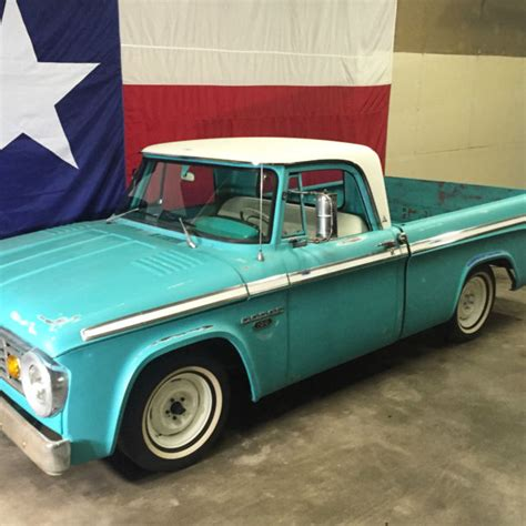 truck bed cers for sale 1965 dodge d100 sweptline shortbed custom cab sweptie