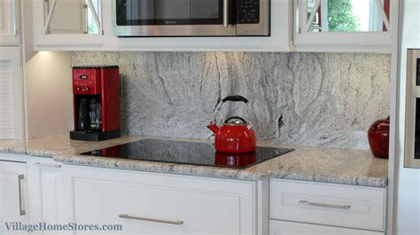 How Are Granite Countertops Attached by Height Quot Silver Cloud Quot Granite Backsplash In A