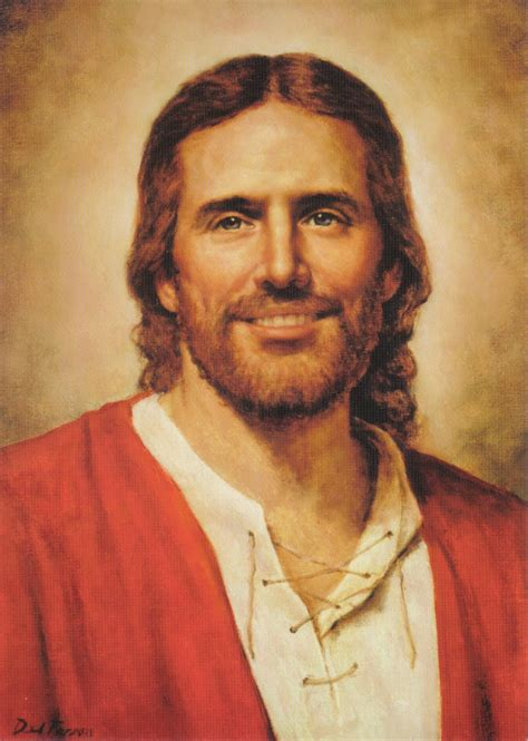 image of christ beautiful jesus picture smiling portrait painting