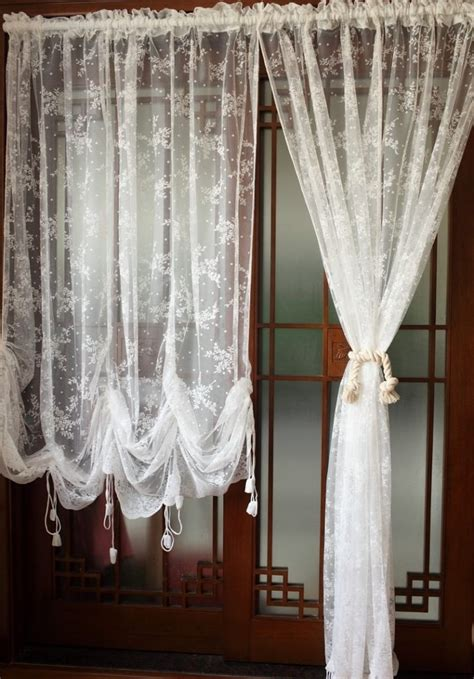 making balloon curtains balloon curtains for living room diaidi pastoral style