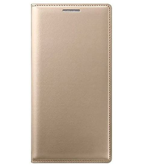 Samsung J5 Flip Cover Flip Merek Huanmin samsung galaxy j5 flip cover by colorcase golden flip covers at low prices snapdeal