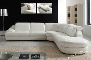Advanced adjustable italian leather living room furniture modern