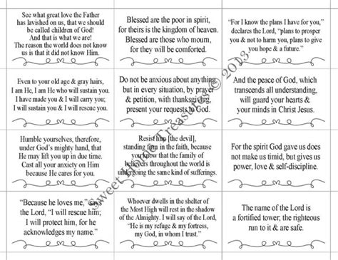 free printable christmas cards with verses 8 best images of printable bible verses of encouragement