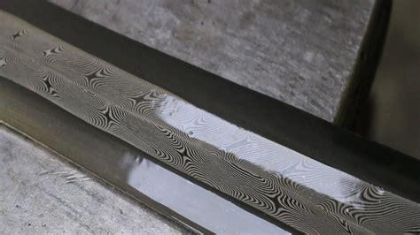 pattern welding steel uk forging a pattern welded viking sword part 1 youtube