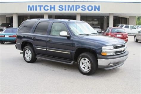 buy used 2005 chevrolet tahoe lt 3rd row southern suv