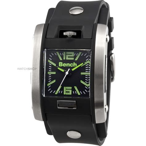 bench watch price men s bench watch bc0367slbk watch shop com