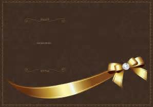 golden luxury invitation vector template download free