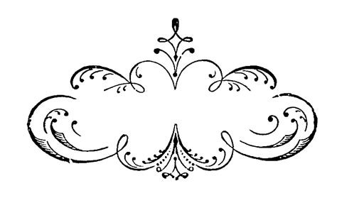 scroll pattern png the graphics monarch printable fancy border labels free