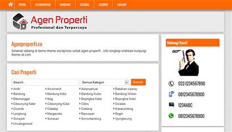 desain kartu nama properti download theme wordpress untuk jualan tanah ruko rumah