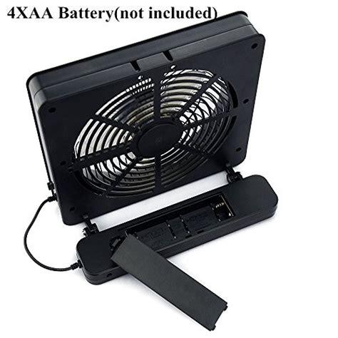 battery powered box fan etong 6 inch portable fan aa battery powered usb