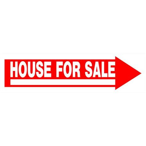 House For Sale Sign by Hillman House For Sale Sign