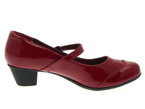 comfort mary jane shoes womens low block heel comfort mary jane court work party