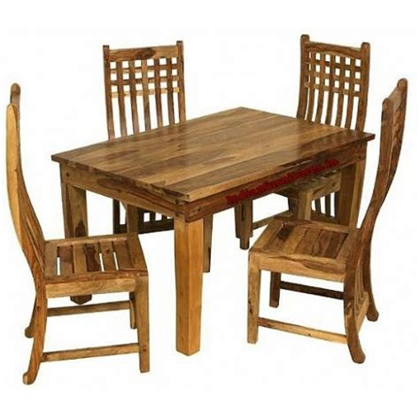 comfortable four seater dining table four seater wooden