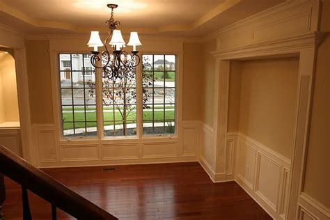 Wainscoting In Dining Room Dining Room Wainscoting Interiors Pinterest