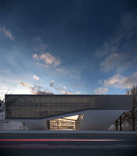 quarter cultural center mikolai adamus archdaily