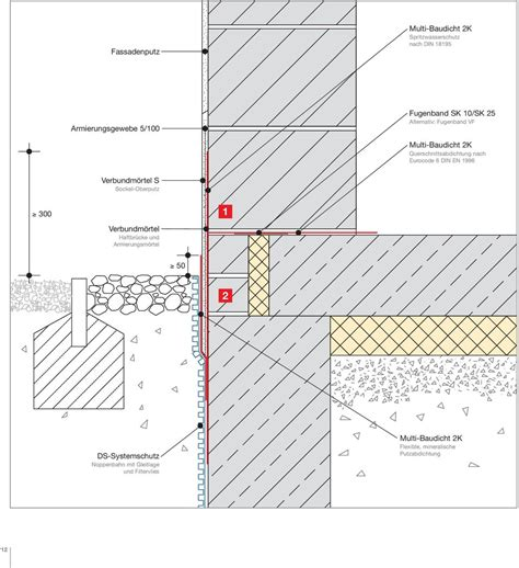 mineralische abdichtung sockel remmers sockel fibel sockelabdichtung im detail pdf